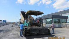 S2OSB\'de asfalt çalışması başladı.