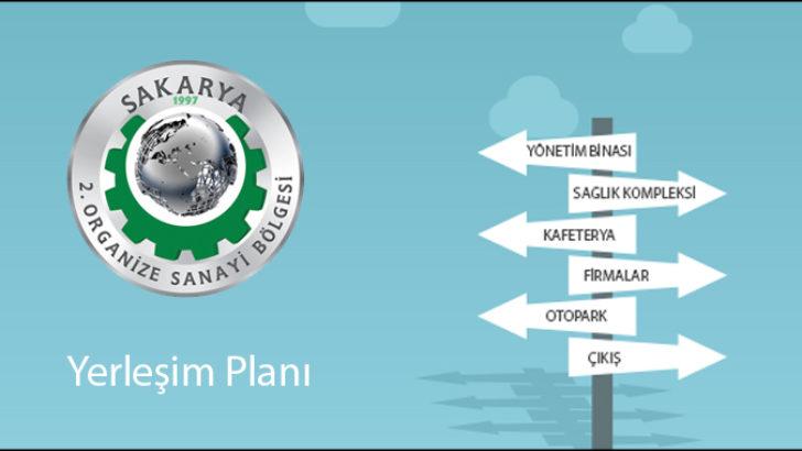 Sakarya 2.OSB Yerleşim Planı