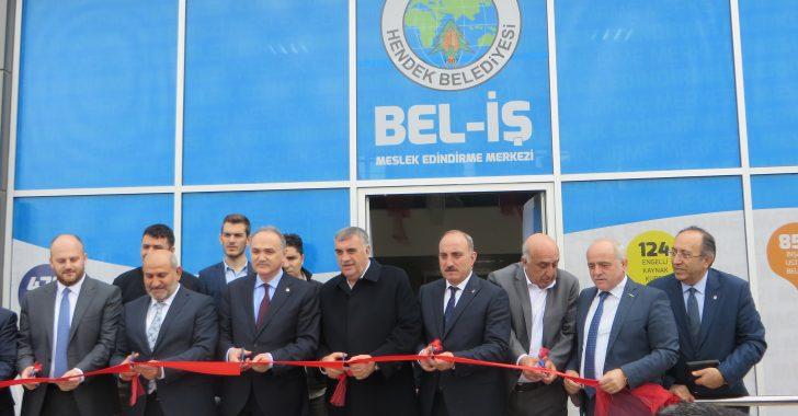 Dr. Faruk ÖZLÜ Bel-iş'in Açılışını yaptı.