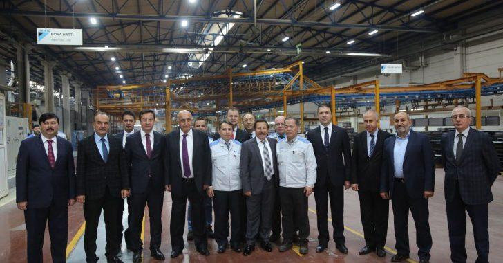 Vali BALKANLIOĞLU'nun DAIKIN Isıtma Ve Soğutma Fabrikası Ziyareti.