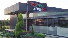 Pranzo D'affari CAFE & Restoran Hizmetinizde…