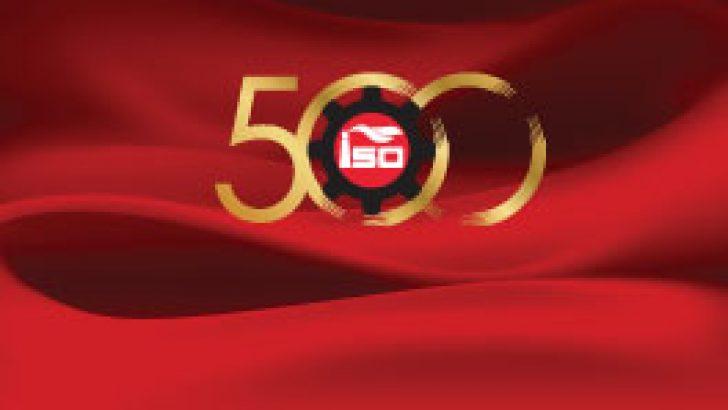 2019 YILI TÜRKİYE'NİN 500 BÜYÜK SANAYİ KURULUŞU AÇIKLANDI. BÖLGEMİZDEN 8 FİRMA YER ALDI.